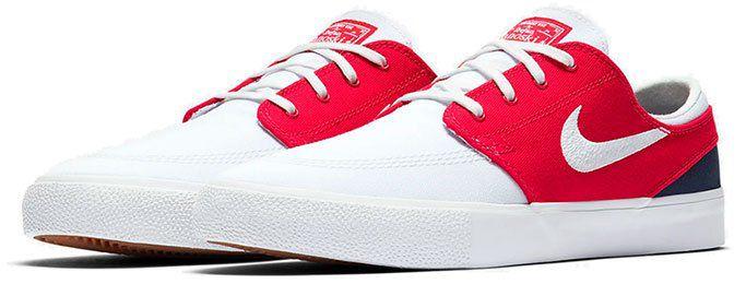 Nike SB Zoom Stefan Janoski Canvas RM in Rot für 45,48€(statt 85€)