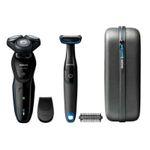 Philips AquaTouch S5082/64 Nass- und Trocken-Elektrorasierer mit Bodygroom für 59,99€ (statt 90€)
