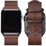 BesBand Retro-Lederbänder für die Apple Watch 38mm bis 44mm für 10,35€ (statt 23€)