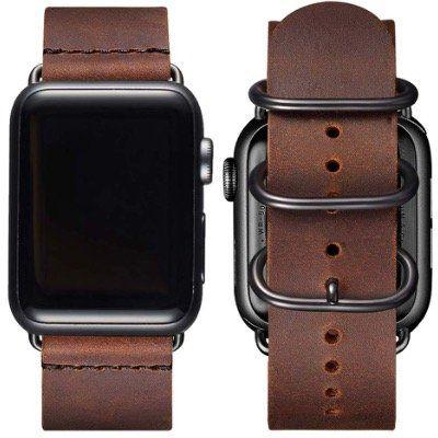 BesBand Retro Lederbänder für die Apple Watch 38mm bis 44mm für 10,35€ (statt 23€)