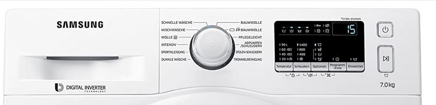 Samsung WW80K4420YW Waschmaschine mit AddWash, 8kg und A+++ für 508,90€ (statt 619€)