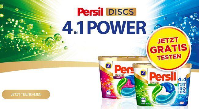 Persil 4 in 1 Power Discs gratis