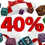 Adobe: 40% auf Creative Cloud – bis 23. Januar nur 35,69€ mtl. (statt 59,49€)