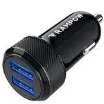 Rampow KFZ-Ladegerät mit 2x USB (24W, 4,8A) für 4,49€ (statt 9€) – Prime