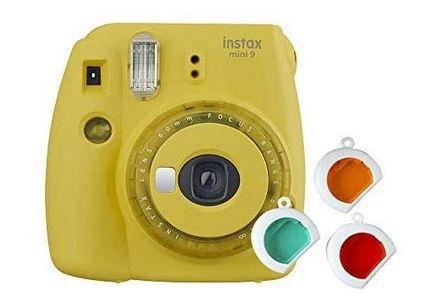 Fujifilm Instax Mini 9 Sofortbildkamera in Gelb für 49,99€ (statt 64€)