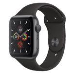 Apple Watch 5 GPS 44mm Alu in Spacegrau + TERRATEC ChargeAir für 459€ (statt 509€)