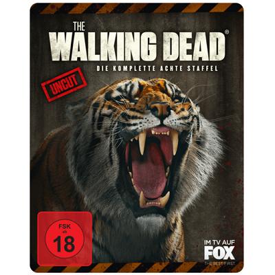 """The Walking Dead   Season 8 (Limited Weapon Steelbook """"Shiva"""", Blu Ray) ab 20€ (statt 30€)"""