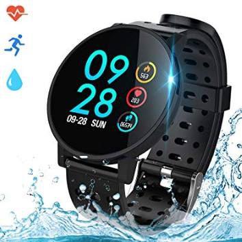 Coulax Smartwatch mit Farbdisplay für 21,99€ (statt 40€)
