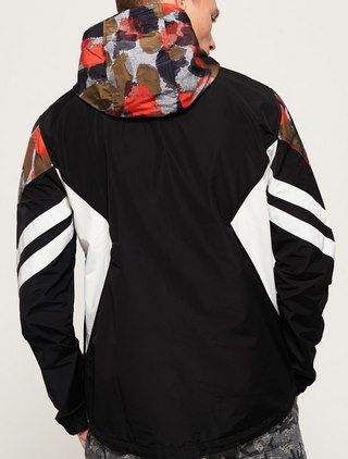 Superdry Jared Overhead Cagoule Herren Übergangsjacke in 2 Designs für je 36€ (statt 50€)