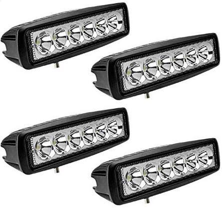 30% Rabatt auf Hengda LED Arbeitsscheinwerfer z.B. 4x 18W IP67 1620LM für 17,49€ (statt 25€)