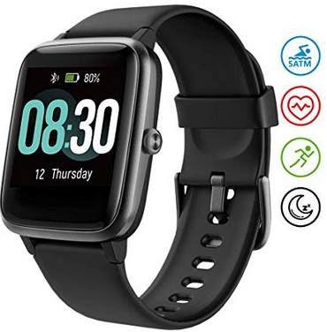Umidigi Uwatch 3 BT 5.0 Smartwatch mit Herzfrequenzsensor für 23,99€ (statt 40€)
