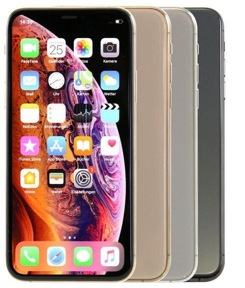 Apple iPhone XS mit 256GB ab 529,90€ (statt neu 798€) gebraucht