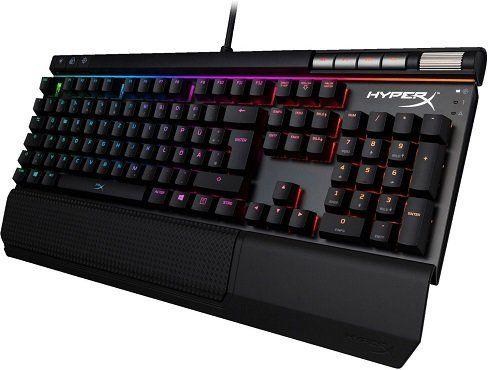 HYPERX Alloy Elite RGB MX Gaming Tastatur für 92,61€ (statt 107€)