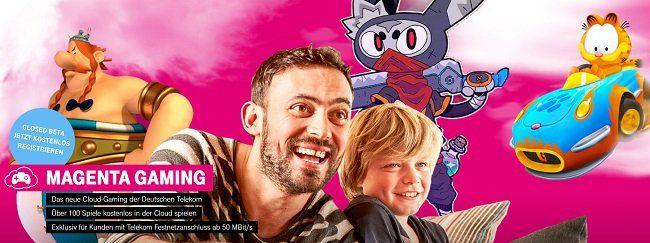 Gratis für Telekom Kunden: Über 100 Spiele bei MagentaGaming spielen