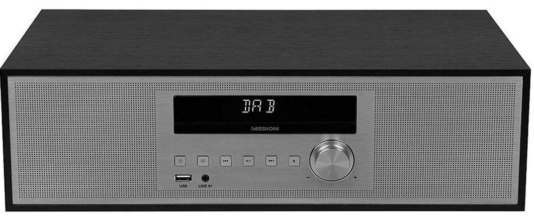 MEDION P64477   Microanlage mit Bluetooth, USB, UKW DAB+ für 69€ (statt 100€)