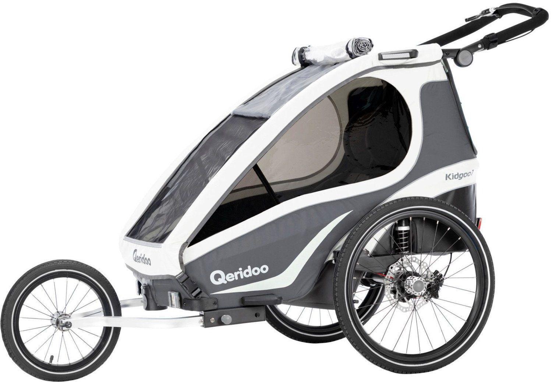 Qeridoo KidGoo 1 Sport (2019) Fahrradanhänger für 359,99€ (statt 449€)