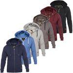 Roberto Barini Herren Zip Hoodies in 6 Farben bis 2XL für je 19,99€ (statt 30€)