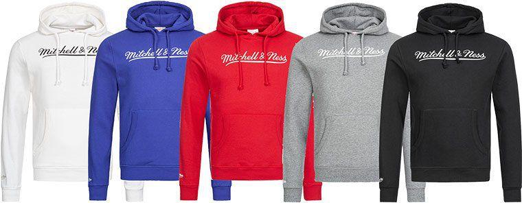 Mitchell & Ness Hoodie in 11 Farben bis 4XL für 18,18€ (statt 25€)