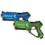 Jamara Impulse Lasertag-Set Laser Gun Battle (blau/grün) für 20,99€ (statt 39€)