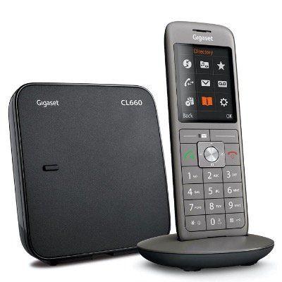 Gigaset CL660   schnurloses DECT Telefon in Single Grey für 38,31€ (statt 55€)