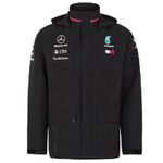 Mercedes AMG Petronas Regenjacke in Schwarz in S bis XL für 63,98€ (statt 140€)