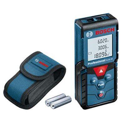 Laser-Entfernungsmesser Bosch GLM 40 Professional für 60,79€ (statt 76€)