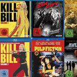 Saturn: Kauf 3 Filme für 10€ zzgl. 1,99€ Versand – z.B. Kill Bill, Pulp Fiction
