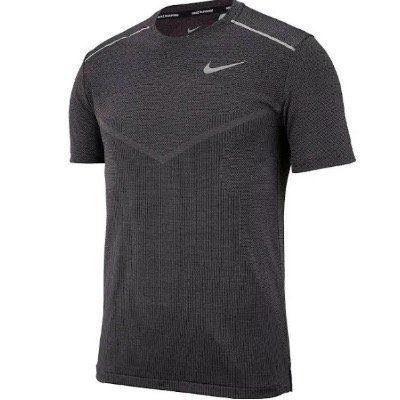 Nike Sport Shirt Techknit in Schwarz und Grau für 19,31€ (statt 35€)