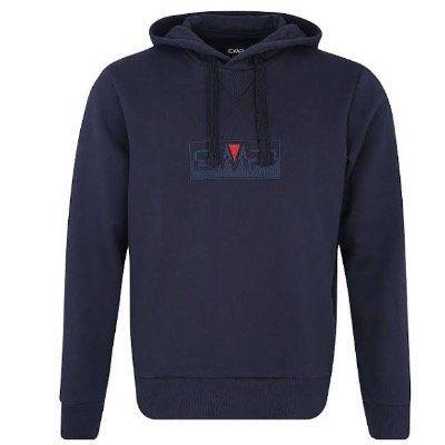 CMP Herren Sport Sweatshirt Man Sweat Fix Hood in Navy für 19,31€ (statt 39€)