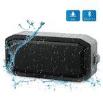 Wasserdichtes Bluetooth-Dusch-Lautsprecher mit 8h Spielzeit mit Mikrofon für 7,29€ (statt 17€)