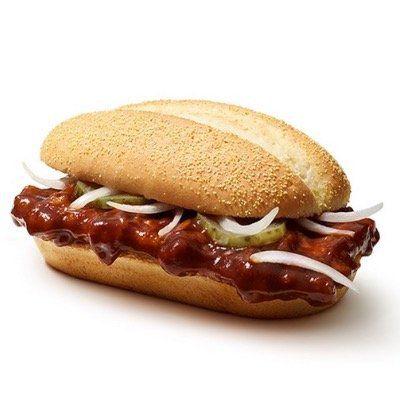 McDonalds APP-Gutschein für 2 McRib zu Preis von einem – ca. 2,10€ pro McRib