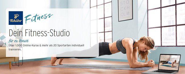 Tchibo Fitness Online Kurs für einen Monat kostenlos