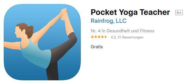 iOS: Pocket Yoga Teacher gratis (statt ca. 8€)