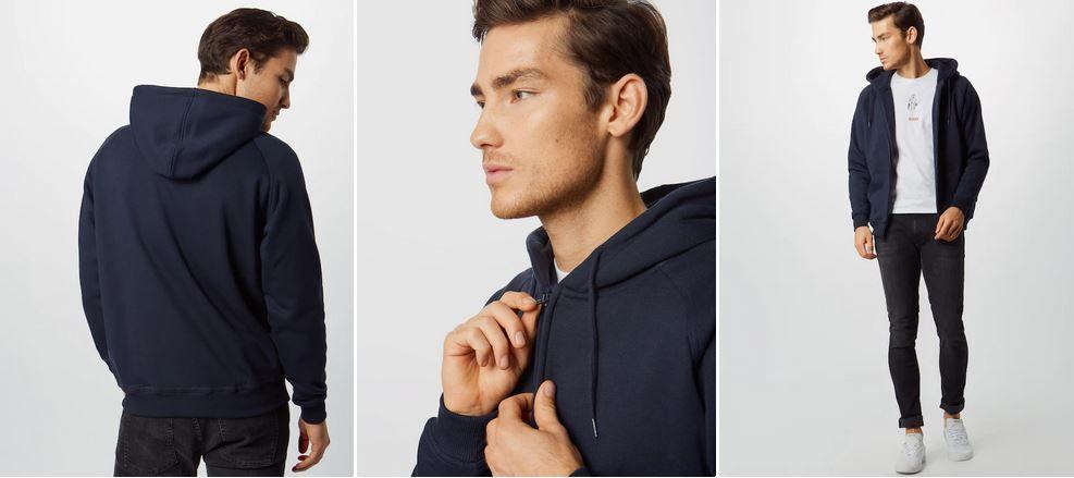 URBAN CLASSICS Herren Zipper Hoody bis L für 17,06€ (statt 34€)