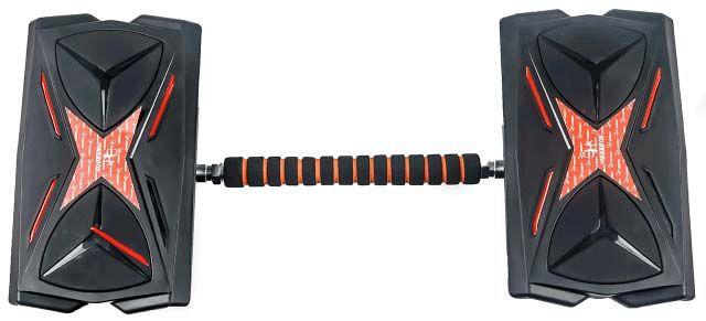 Hikerboy Hovershoes & board mit Licht & Bluetooth für 64,99€ (statt 100€)