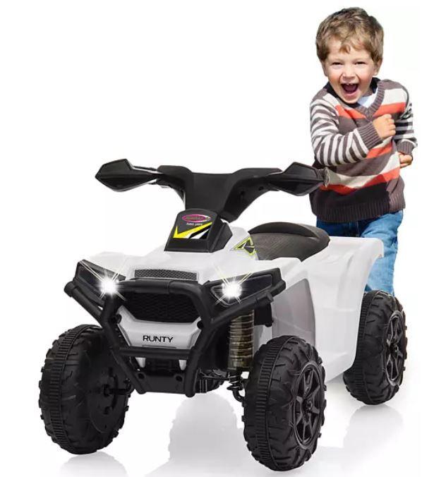 Media Markt Dienstag Sale   z.B. JAMARA Mini Quad Runty 6V Kinderfahrzeug ab 44,99€ (statt 62€)