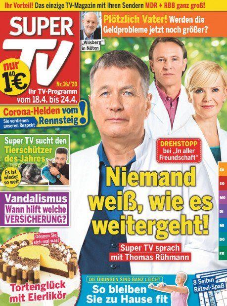 52 Ausgaben Super TV für 72,80€ + 65€ Verrechnungsscheck