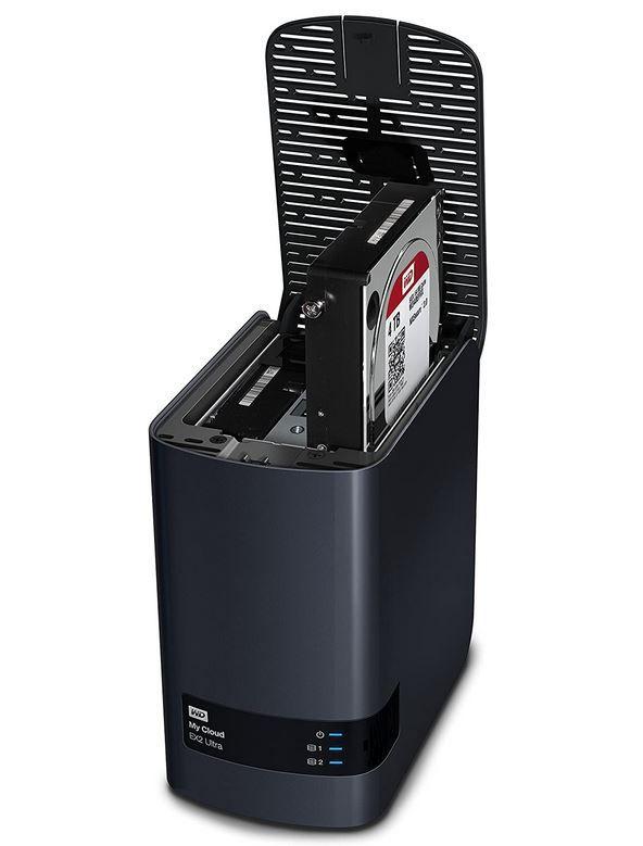 WD My Cloud EX2 Ultra NAS Festplatte 4 TB 3.5 Zoll (2 x 2TB) für 199,98€ (statt 227€)