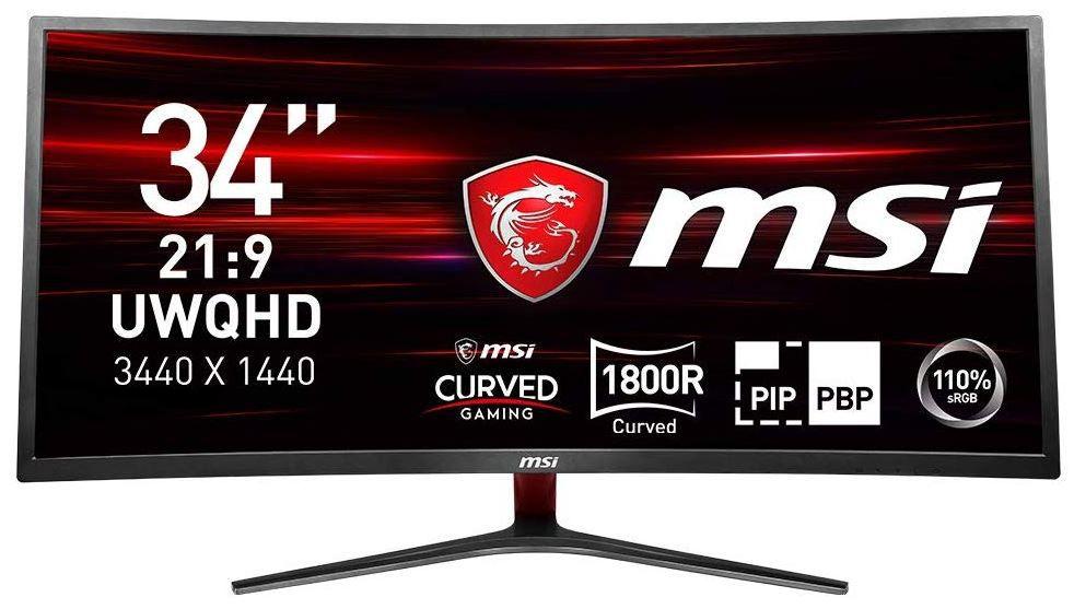 MSI Optix MAG341CQ  34 Zoll curved Monitor UWQHD 100Hz für 405,94€ (statt 474€)