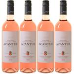 6 Flaschen Acantus Rosado Rosé (2018) für 31,89€ (statt 42€)