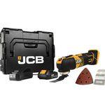 JCB Akku Multifunktionswerkzeug 18V inkl. 1x 2,0 Ah Akku Ladegerät und L-BOXX für nur 99,95€ (statt 130€)