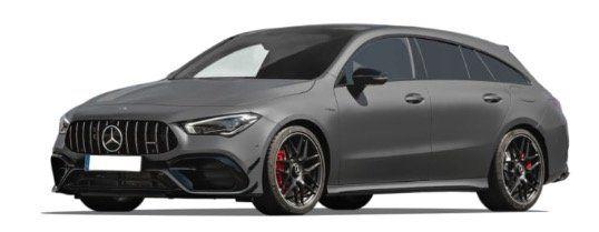 Gewerbe: Mercedes CLA Shooting Brake CLA AMG 45S 4Matic und DCT mit 421PS ab 379€ mtl.   LF 0,71