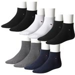 8er Pack Tommy Hilfiger Herren Quarter Socken für 31€ (statt 39€)