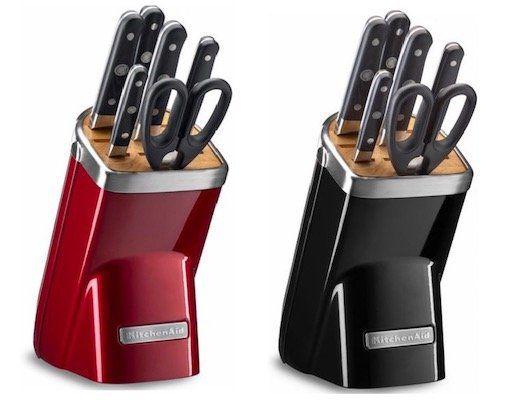 KitchenAid KKFMA07 Küchenmesser Set mit Block für 159,99€(statt 180€)