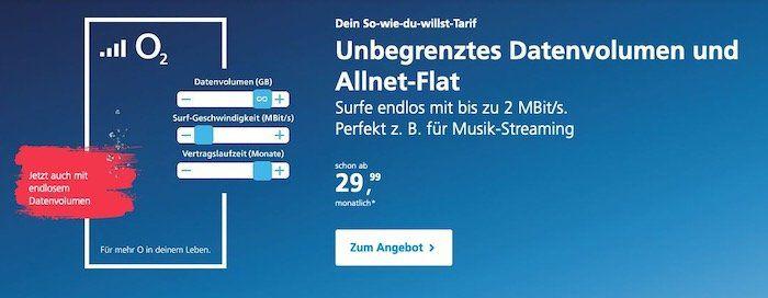 Neue O2 Unlimited Tarife: Was ist neu, was hat sich geändert? Schon ab 19,99€ monatlich