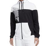 """Nike Fleece-Kapuzenjacke """"GSP Jacket"""" in Schwarz-Weiß oder in Schwarz-Blau für 39,95€ (statt 60€)"""