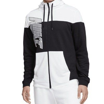 Nike Fleece Kapuzenjacke GSP Jacket in Schwarz Weiß oder in Schwarz Blau für 39,95€ (statt 60€)