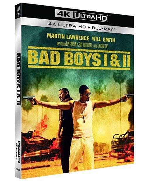 Vorbei! Bad Boys I & II 4K Ultra HD Blu Ray für 18,95€ (statt 40€)