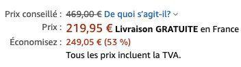 Weber Q 2400 Elektrogrill für 240,62€(statt 335€)