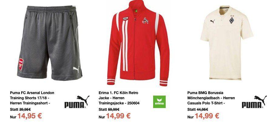 Sport 1a Größe S Sale ab 5€   z.B. 1. FC Köln Trainingsjacke für 21€ (statt 41€)